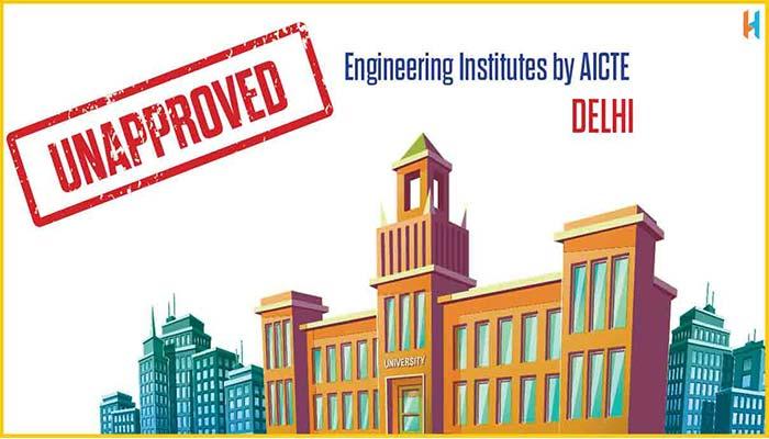 Unapproved Institutes of Delhi