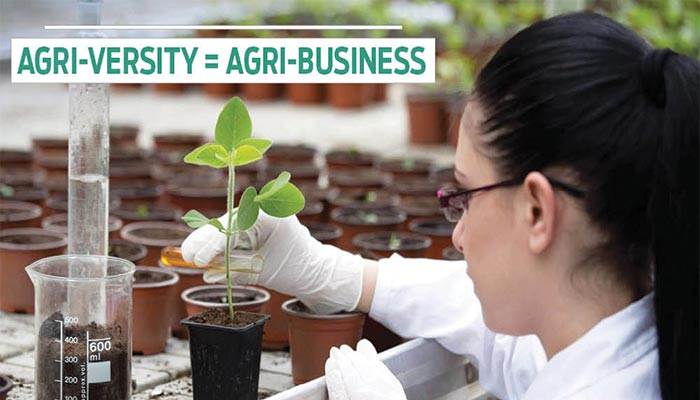 Agri-Versity = Agri-Business