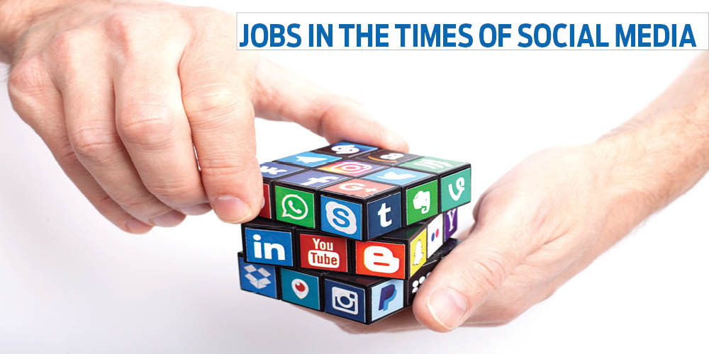 Jobs in the times of social media
