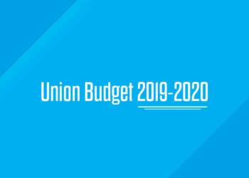 Union Budget 2019-2020