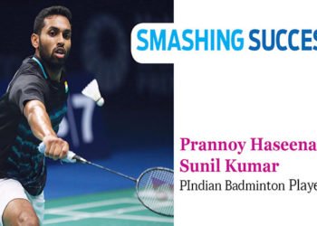 Smashing Success - Prannoy Haseena Sunil Kumar