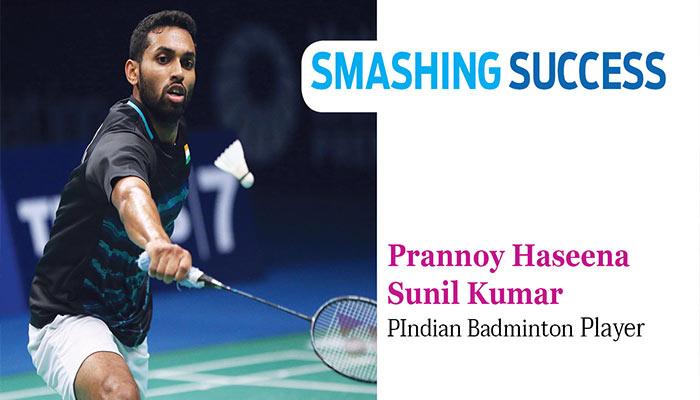 Smashing Success - Prannoy Haseena Sunil Kumar