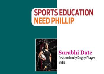 Surabhi-Date-sports-education-need-Phillip