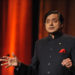 Shashi_tharoor speaks at JGU's 10th annual conference