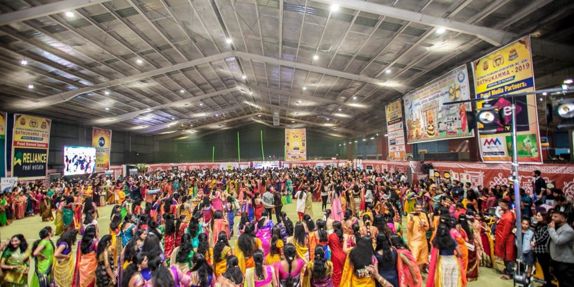 Bathukamma celebrated with gaiety in Melbourne