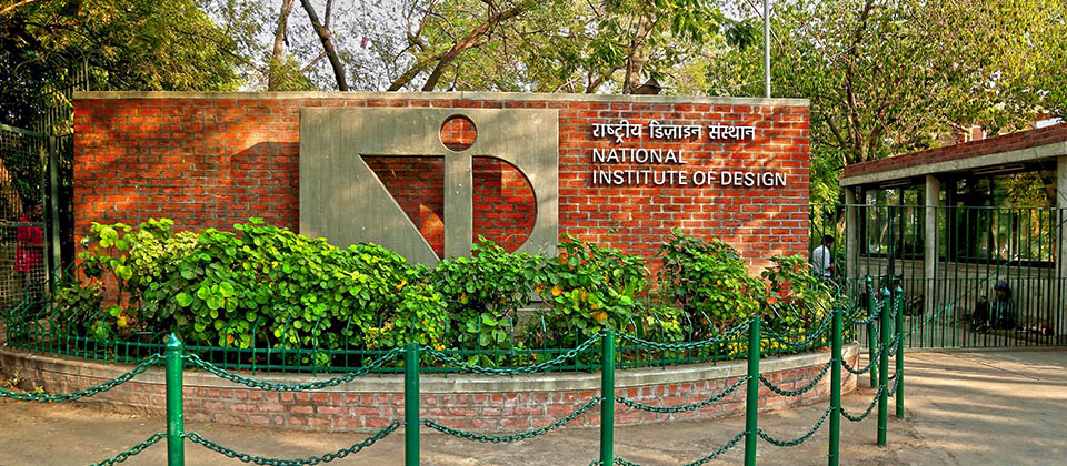 Apply by November 7 for M Des at National Institute of Design