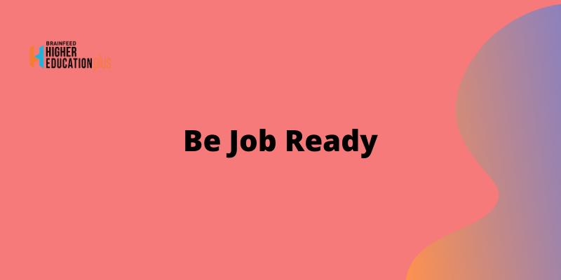 Be Job Ready