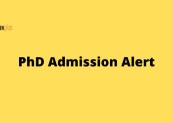 PhD Admission Alert