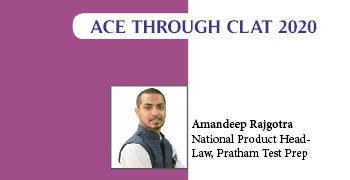 Ace Through CLAT 2020 | Amandeep Rajgotra, National Product Head- Law, PRATHAM Test Prep