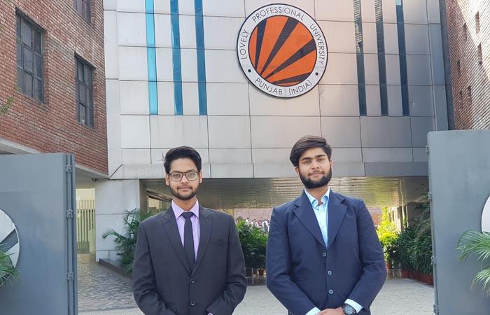 Shivanshu Mathur and Raghav Jain