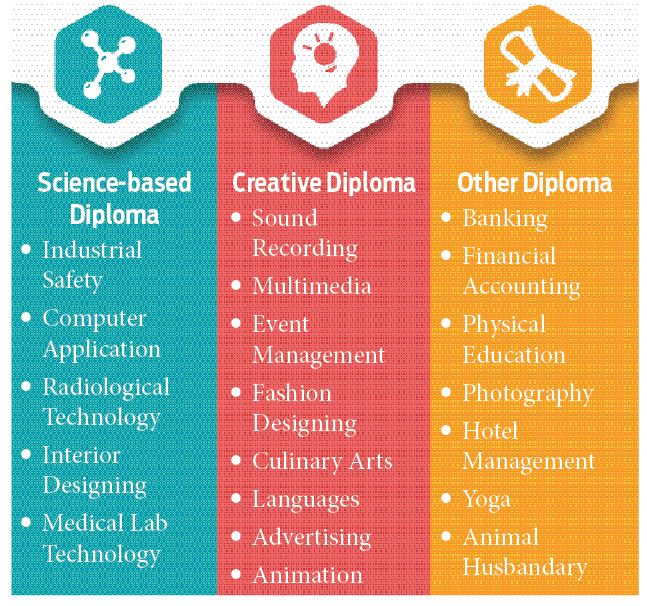 1-year diploma courses