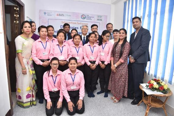 Ambassador of Japan to India visited IL&FS Skills Centre for the first-ever Indo-Japan Intern Training Programme in North-East
