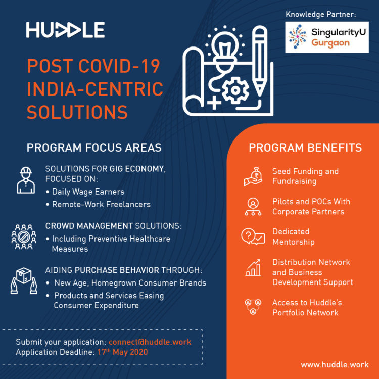 Post Covid19 India Centric Solutions