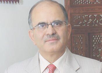 Dr. RL Raina, Vice Chancellor, JK Lakshmipat University, Jaipur