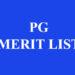 DU PG First Merit List 2020