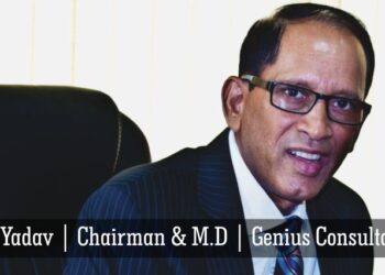 Mr. R P Yadav, Chairman & Managing Director, Genius Consultants Ltd.