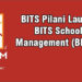 BITS Pilani launches a new-age business school 'BITS School of Management'