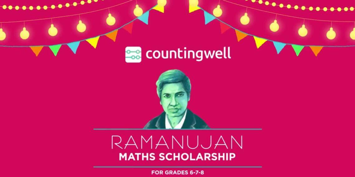 Ramanujan Maths Scholarship